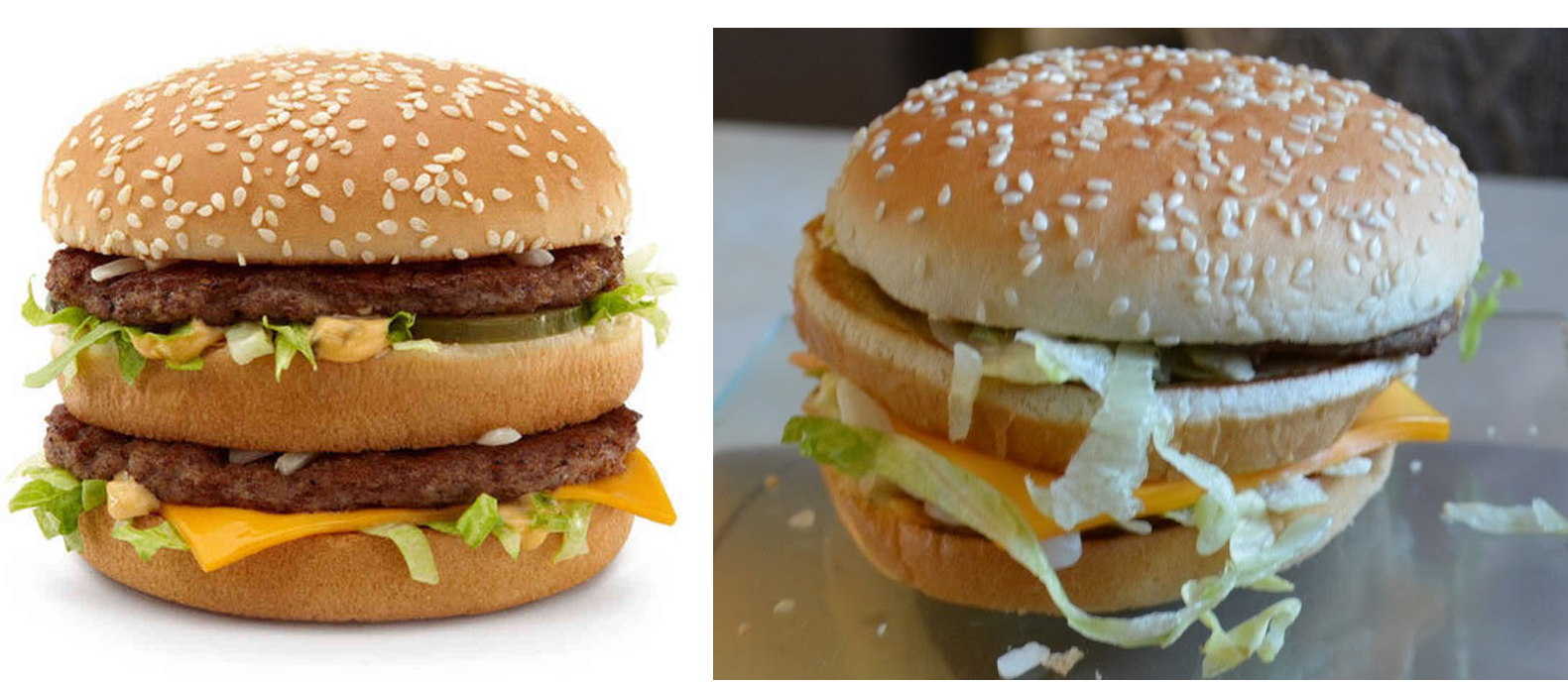 Big Mac Comparison