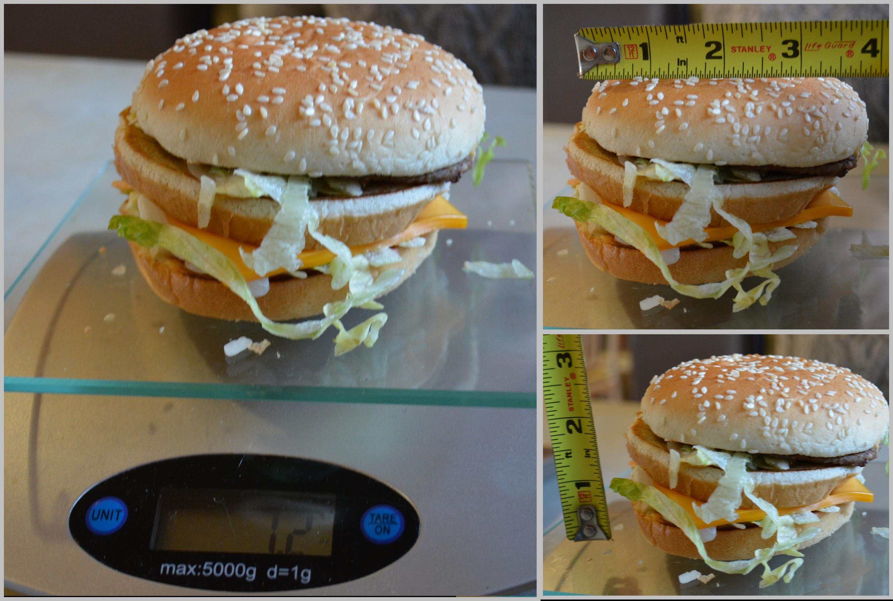 McD Big Mac Stats