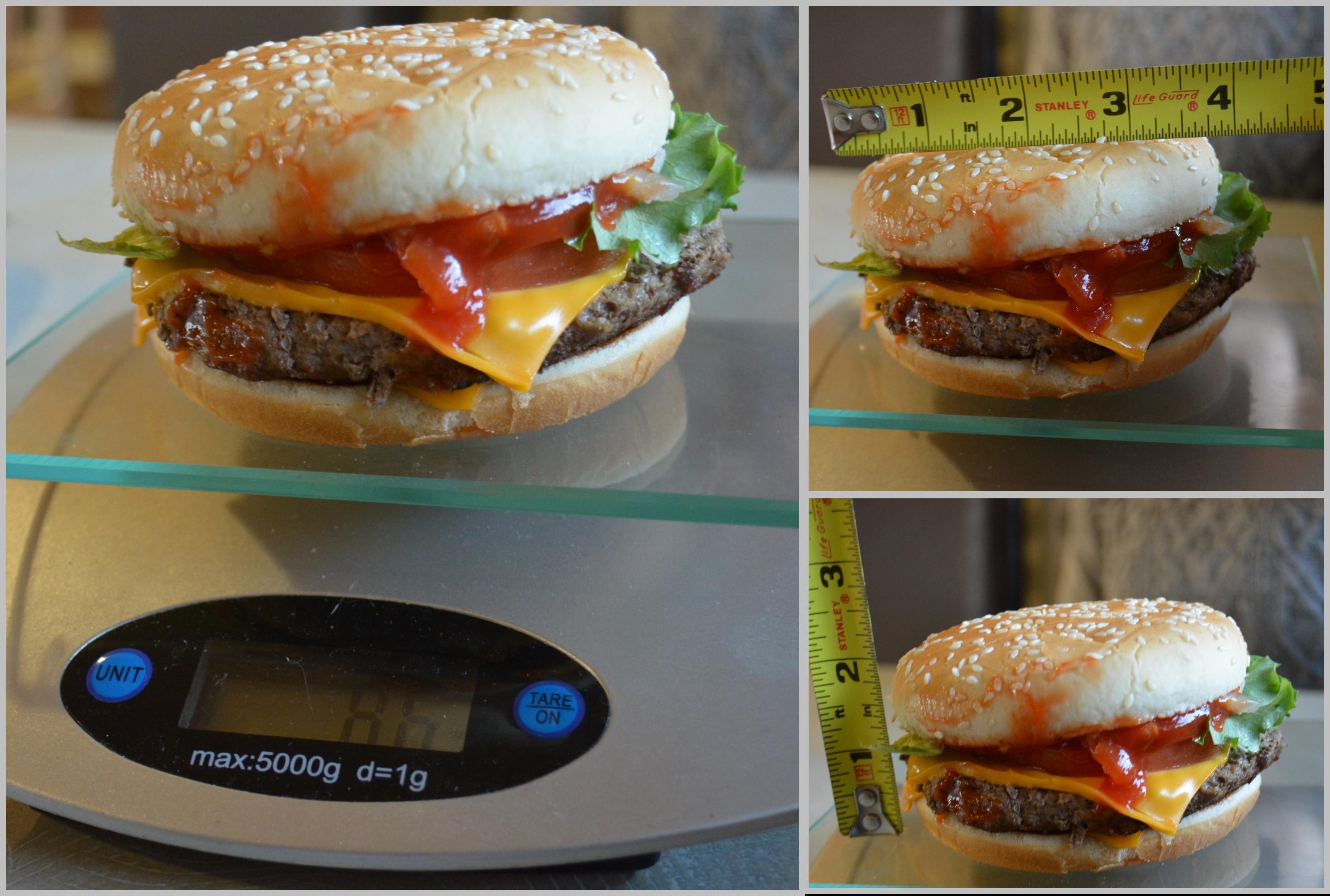McD Quarter Pounder Deluxe